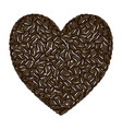 coffee love - drink vector image vector image
