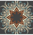Colourful ornamental background vector image vector image