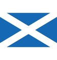 flag of scotland also known as st andrews cross vector image