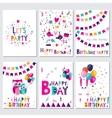 happy birthday let s birthday party vector image vector image