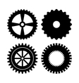 Industrial wheel design vector image