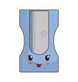 kawaii sharpener ico vector image vector image