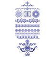 Set of decor vector image