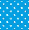 sword box pattern seamless blue vector image vector image