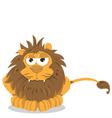 lion sitting vector image