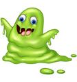 Green slimy monster