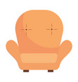 chair icon cartoon vector image