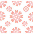 floral pattern background decoration card vector image