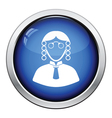 Judge icon vector image vector image