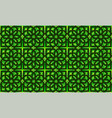 neoclassic seamless oriental pattern islamic vector image