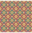 pixel modern geometric seamless pattern vector image vector image