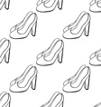 Shoe Pattern Background vector image