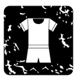Sport uniform icon grunge style vector image