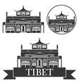 Tibet vector image vector image