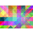 Abstract geometric background with colorful tiles vector image