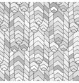 Seamless abstract pattern grey vector image