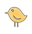 bird social media vector image