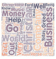 christian entrepreneur text background wordcloud vector image vector image