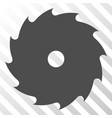 circular saw eps icon vector image