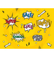 Comic art speech bubbles