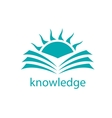 logo knowledge vector image