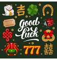 Lucky Charms Set vector image