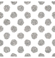 Seamless pattern of silver glitter polka dots vector image vector image