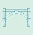 bridgetown vector image