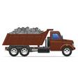 cargo truck concept 09 vector image vector image