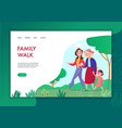family generations concept banner vector image