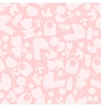 Girl baby shower seamless pattern vector image