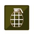 grenade weapon icon image vector image vector image
