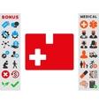 Medical Box Icon vector image
