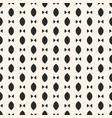 simple minimalist seamless pattern with ovals vector image