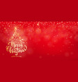 christmas background happy new year holiday vector image