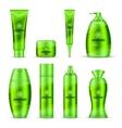 Cosmetic Series Packaging Design Set vector image
