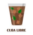 Cuba libre vector image