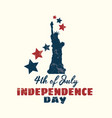 happy 4th of july independence day vector image vector image