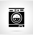 laundry room glyph style icon vector image vector image