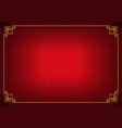 red chinese fan abstract background vector image vector image