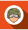 war soldier design vector image