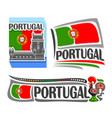 logo for portugal vector image