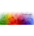 abstract horizontal background with rainbow vector image vector image