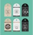 advertising sticker badge coffee shop vector image vector image