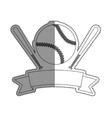 Baseball sport game vector image vector image