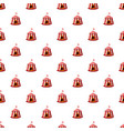 circus tent pattern vector image vector image