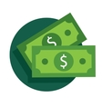 Dollar Bill Icon vector image