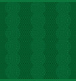 knit green pattern vector image vector image