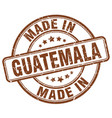 made in guatemala vector image vector image