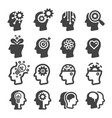 mind icon vector image vector image